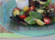 Salade foies volaille