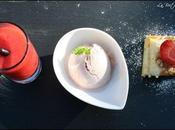 Trio desserts fraise