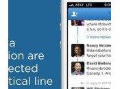 Twitter 5.10 nouveau look pour conversations