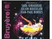 Zelda Scott, l'aventure Fitzgerald, excellente pièce théatre Bruyère