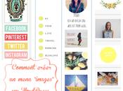 """Comment créer menu """"images"""" WordPress"""