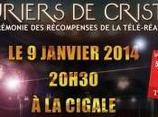 Lauriers Cristal première cérémonie récompenses télé-réalité