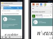 Responsive design emailing talandria