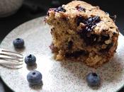 Gâteau flocons d'avoine, myrtilles mûres Martha Stewart