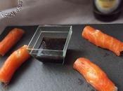 Sushis saumon fumé