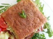 Omelet toast recette d'un sandwich d'omelette pesto jambon {sans gluten}