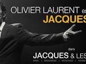 Jacques Brel chantait encore... octobre, Sentier Halles, laissez-vous emporter Jacques.. autres avec Olivier LAURENT.