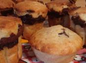 muffins banane-nutella