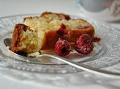 Cake amandes framboises