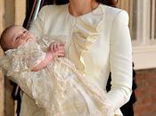 Duchesse Cambridge Alexander McQueen lors baptême Prince George...