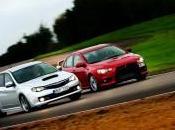 Subaru 2014 Mitsubishi Lancer Evolution Match comparatif