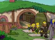 Simpson parodient Hobbit Peter Jackson
