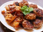 Cha, vermicelles porc grillé Hanoï (Bún Nội)