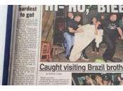Justin Bieber surpris sortie d'une maison close Janeiro