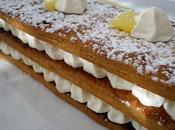 1000 feuilles crème vanille mascarpone pomme confite