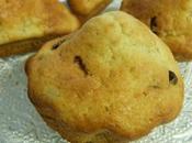 Muffins bananes pépites chocolat