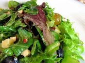 Salade mesclun deux raisins