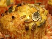 Muffins Citrouille Chèvre Frais sans Gluten