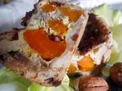 Tarte potimarron, noix bacon