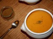 Potage choux fleurs, carottes cumin