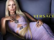 Lady Gaga Visage Versace pour Collection 2014