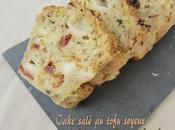Cake salé tofu soyeux tomates séchées fines herbes (recette sans oeuf)