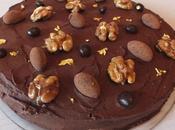 Gâteau noix fourré crème (sans gluten)