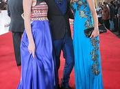 Aïda Touihri, Carmen Steffens, Asmaa Khamlichi habillées Christophe Guillarmé cérémonie hommage Juliette Binoche 13ème édition FIFM.