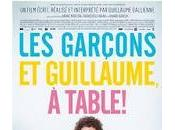 Film Garçons Guillaume, table Guillaume Gallienne (sorti 20/11/2013)