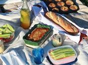 Terrine saumon poireau pique-nique d'un soir Jardin anglais