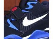 Nike Force Black White Sport Royal