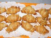 Mini-croissants jambon cru/pruneaux jambon/fromage