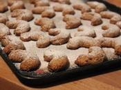 Croissants sablés noisettes