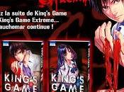 King's Game Extreme chez Ki-oon