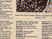 Interview Cynthia Horner Right On!, août 1977