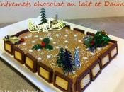 Entremets chocolat lait Daims