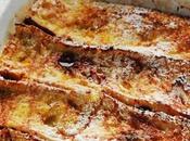 nourriture perdait plus chez commençais pain, pain perdu croustillant fondant menu