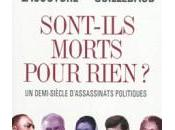 ASSASSINATS POLITIQUES MARQUE 2ème MOITIE XXème SIECLE