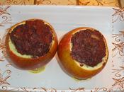Pommes farcies boudin noir