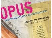 OPUS 2014 Biennale Printemps l'Église Château Felletin