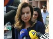 Valerie Trierweiler, toujours Première Dame