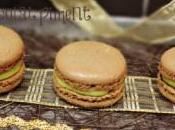 Macarons avocat citron vert chocolat piment