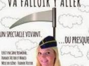"""falloir aller"""" spectacle grinçant Jane Resmond, découvrir Comédie Bornes"""