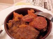 Sauté Boeuf Paprika, Chorizo légumes