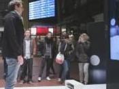Nouvelle cabine d'essayage réalité augmentée, possible grâce #Kinect