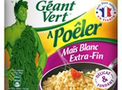 Maïs blanc légumes vert sautés l'asiatique
