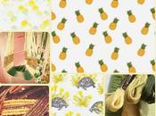 Tendances colorées pour l'été: saumon citronné thym