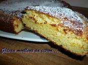 Gâteau rapide citron