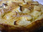 Gâteau pommes raisins l'ancienne pour fête mamies