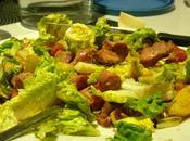 salade tiède gésiers volaille